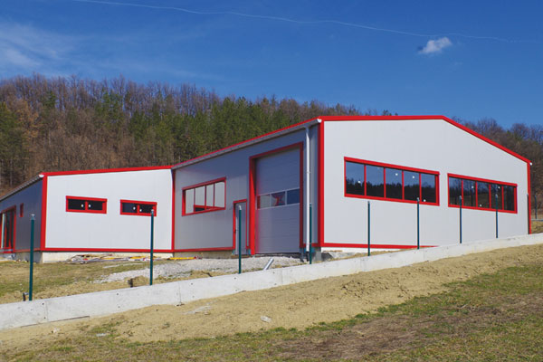 Производствена база - с. Поповци