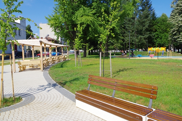 Renovation of Park Koleloto - city of Gabrovo