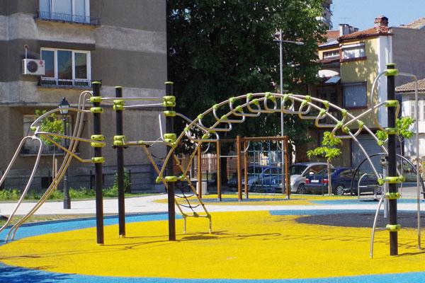 Детска площадка - ул. Ивайло - гр. Габрово